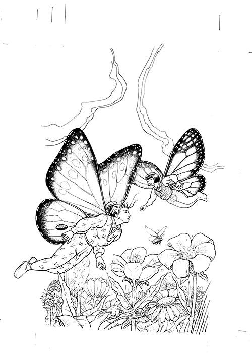 Le bus magique - La ferme des papillons