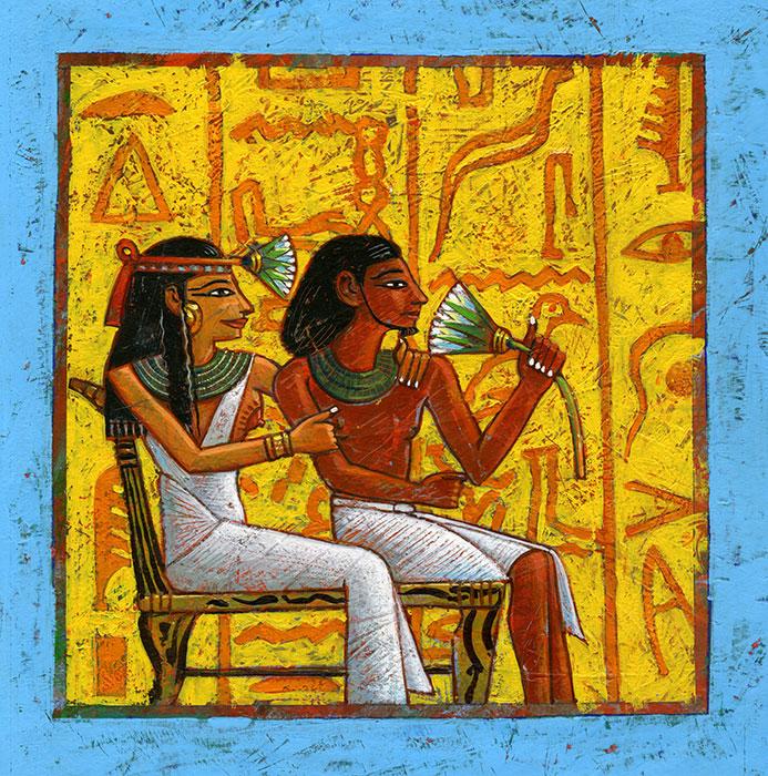 l'Egypte ancienne - couverture