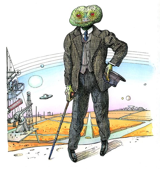 L'oeil de l'astronome