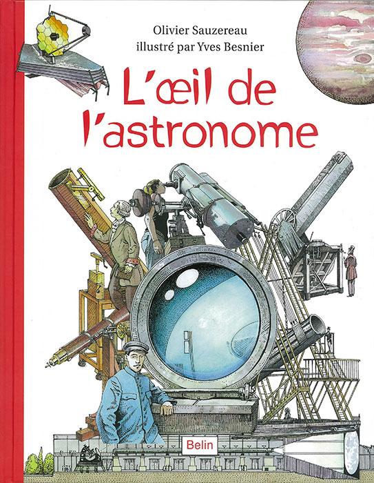 L'oeil de l'astronome - couverture