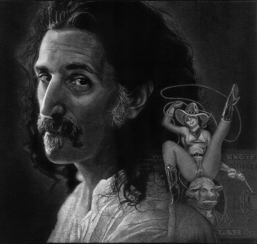 Zappa 2013 d'après une photographie de Fritz Brinckmann